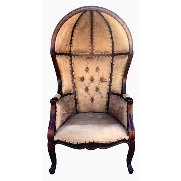 D Art Collection Louis Dome Balloon Arm Chair U0026 Reviews | Wayfair