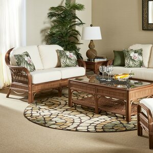 Bermuda Loveseat by South Sea Rattan
