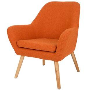 Merveilleux Orange Mid Century Chair | Wayfair