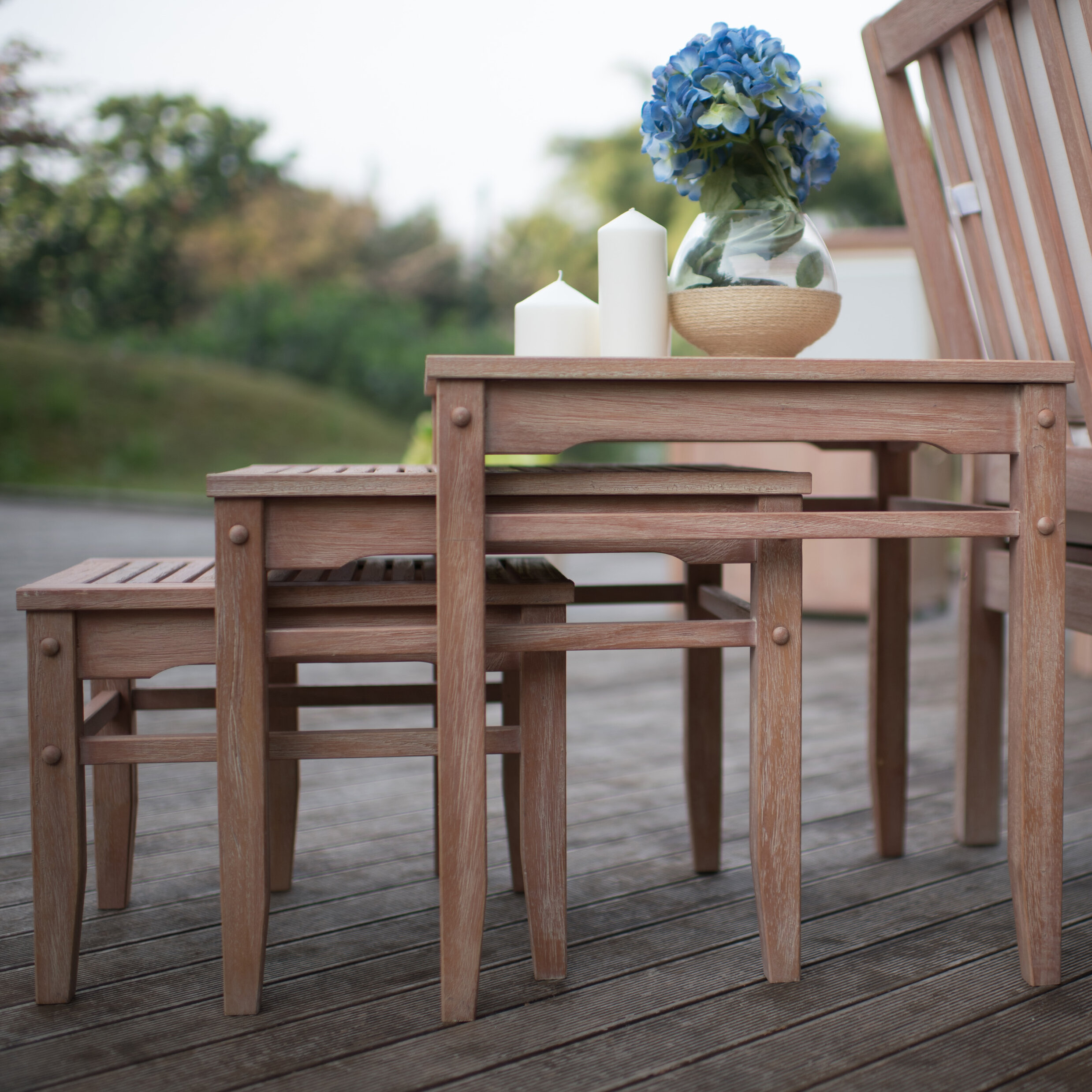 Cambridge Casual Willow 3 Piece Nesting Tables U0026 Reviews | Wayfair