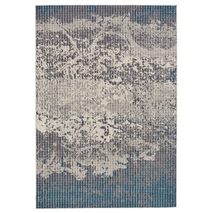 Galvan Turquoise/Gray Area Rug