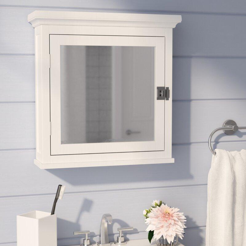 Sumter 18 75 X 19 Surface Mount Framed Medicine Cabinet With Adjule Shelves