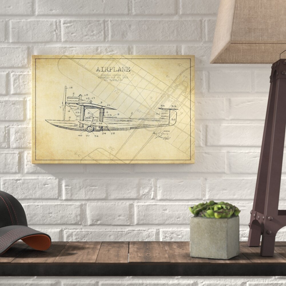 Charming blueprint wall art ideas the wall art decorations lovely airplane wall art ideas the wall art decorations malvernweather Gallery