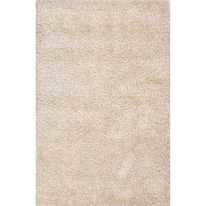 Burnell Beige Solid Area Rug