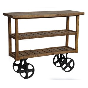 Guadalupe Bar Cart by 17 Stories