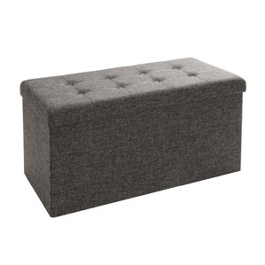 Zosia Tufted Foldable Storage Cube Ottoman by Zipcode Design