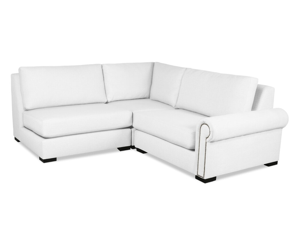 Darby home co lebanon l shape upholstered modular for L shaped couch name