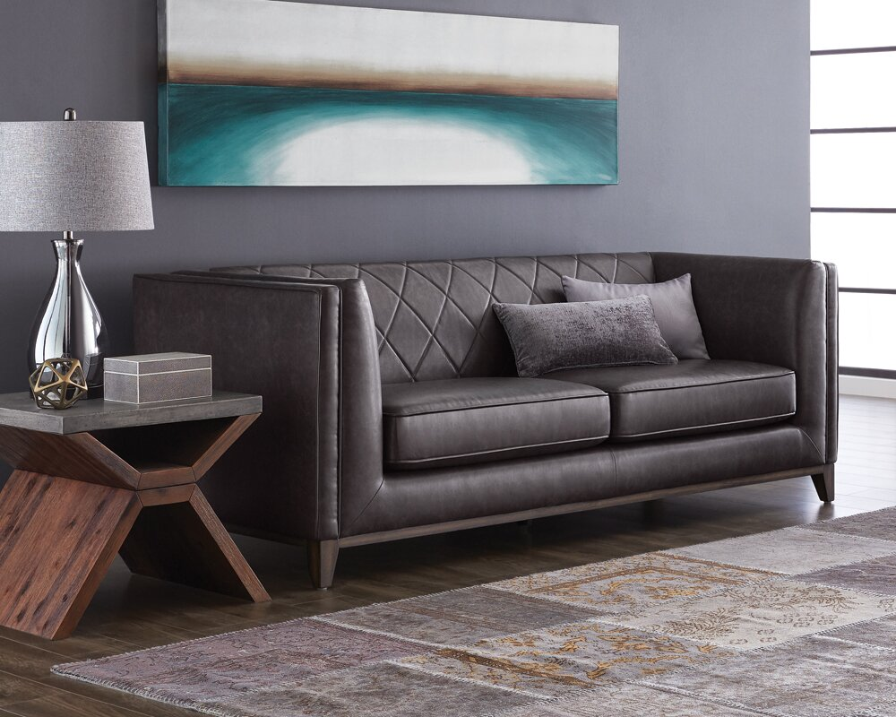 5West Leather Sofa