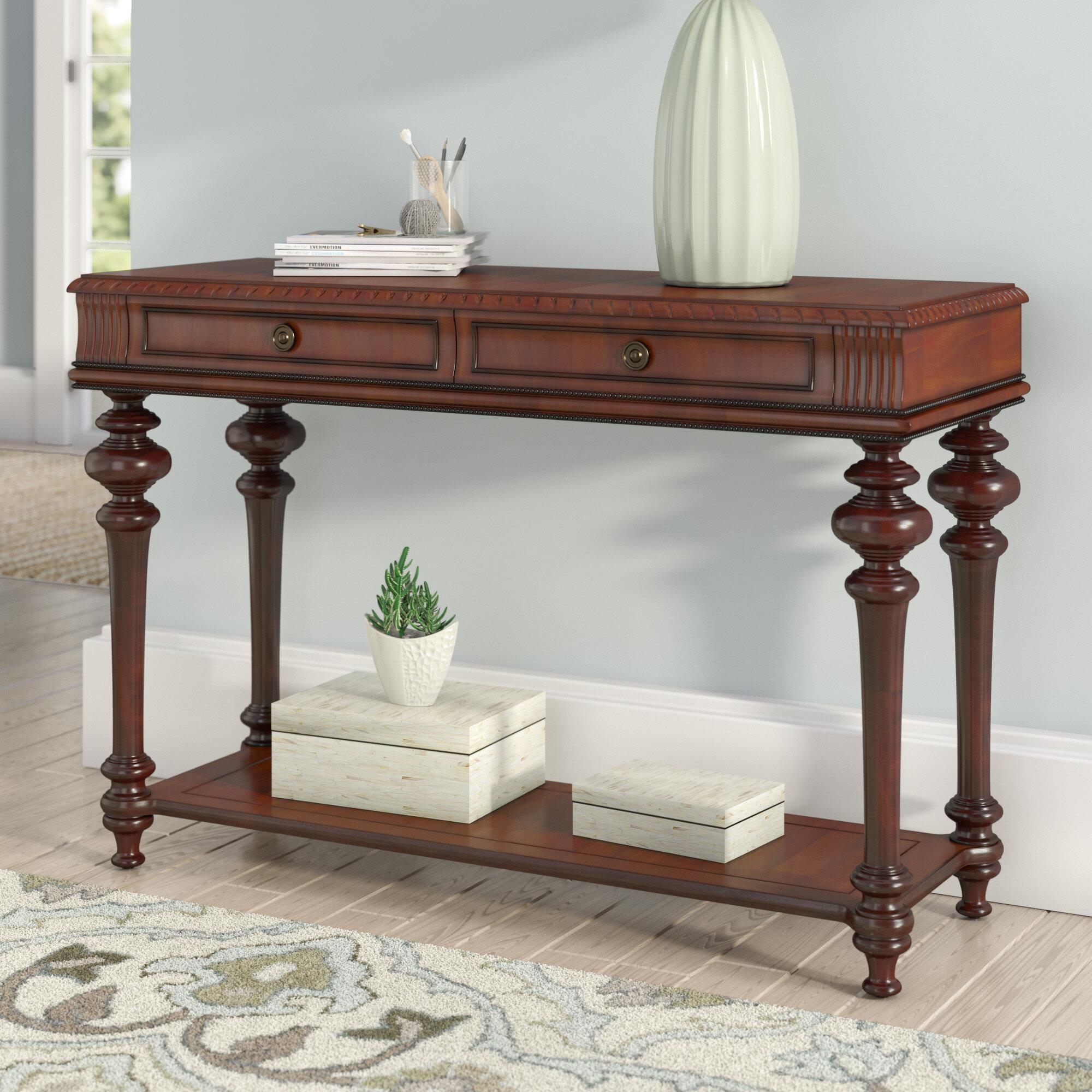 Astoria grand turnham console table reviews wayfair