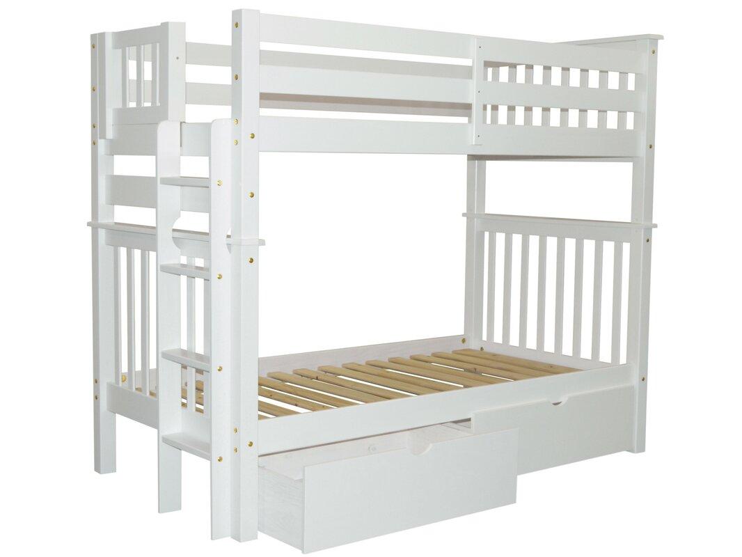 loft bed frames uk bedz king mission tall twin over twin bun