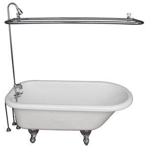 Rectangular 55 Inch Bathtub | Wayfair