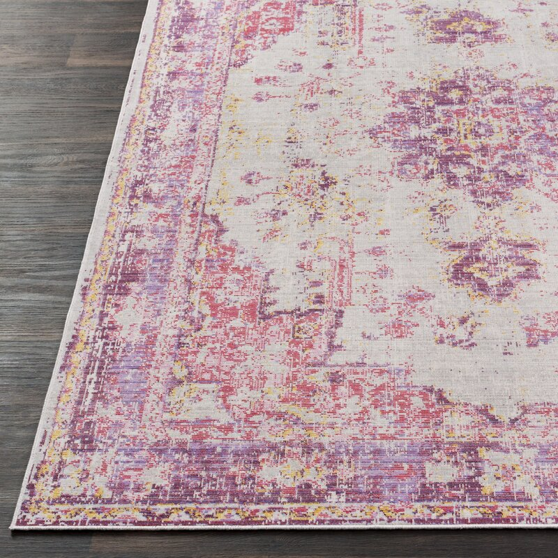 Kahina Pinkgray Area Rug Reviews Joss Main