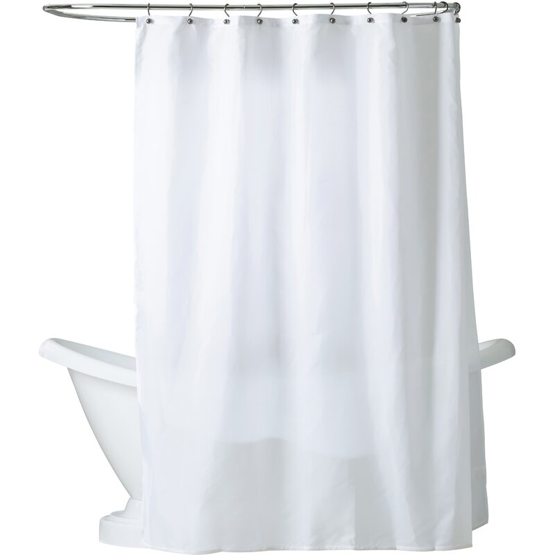 Berning Nylon Shower Curtain Liner & Reviews | AllModern