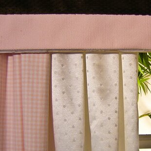Pink Chocolate Curtain Valance