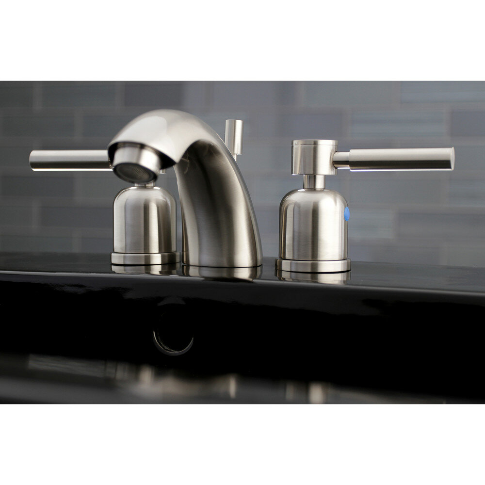 Kingston Brass Concord Widespread Bathroom Faucet with Drain ...