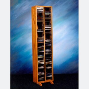 200 Series 160 CD Multimedia Storage Rack by Wood Shed