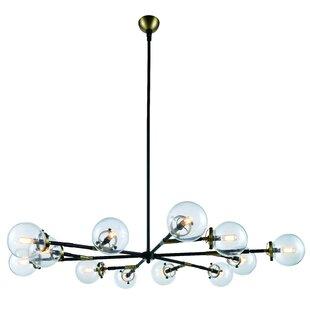 Outdoor led chandelier wayfair save aloadofball Gallery