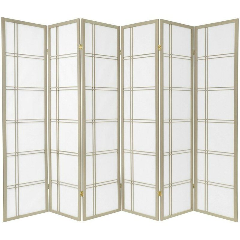 Mistana 70 x 84 Boyer 6 Panel Room Divider Reviews Wayfair