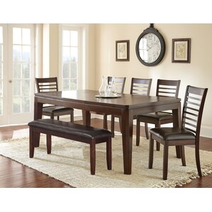 Allison 8 Piece Dining Set by Andover Mills