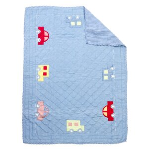 Toy Cars Baby Quilt