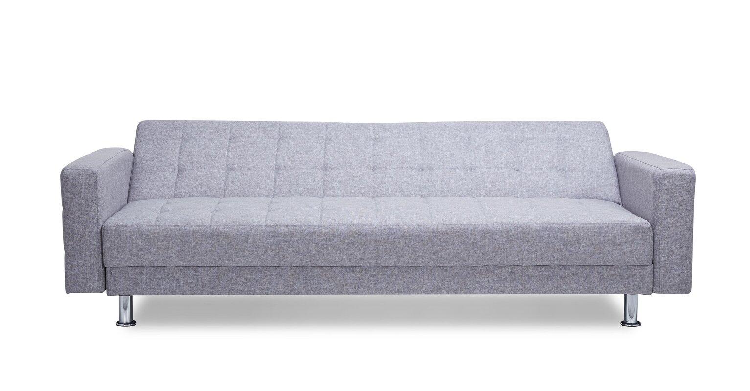 Wade Logan Spirit Lake Convertible Sleeper Sofa Amp Reviews