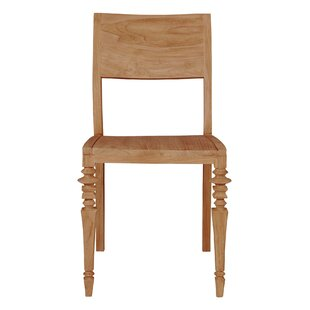 Glam Solid Wood Dining Chair (Set of 2)