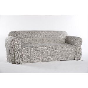 Angel Box Cushion Loveseat Slipcover by Classic Slipcovers