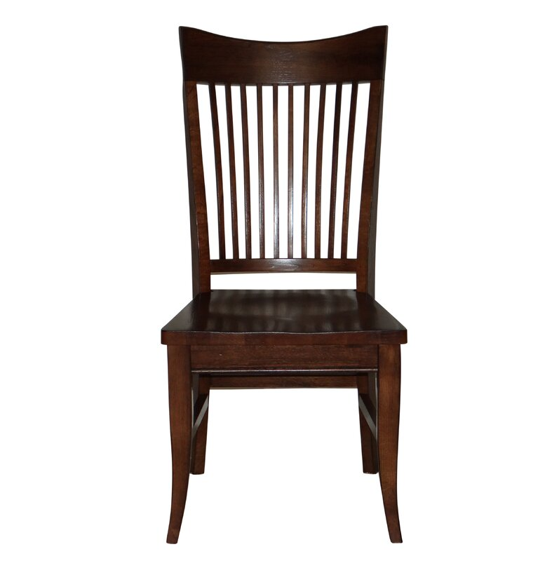 Lacon Curved Spindle Back Seat Solid Wood Dining Chair