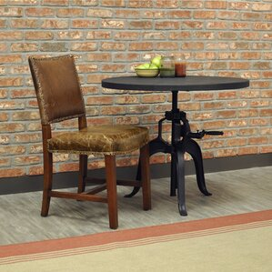 Valley Genuine Leather Upholstered Dining Chair by Sofas to Go