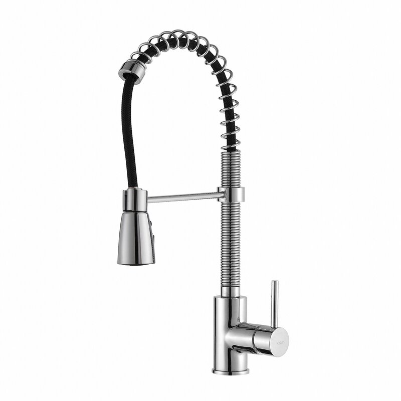 Wonderful Single Handle Pull Down Kitchen Faucet