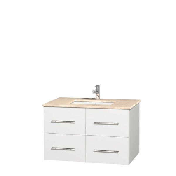 Wyndham Collection Centra Single Bathroom Vanity Set Wayfair - Bathroom vanities northridge ca
