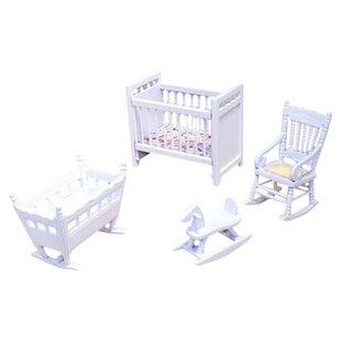 Barbie furniture for dollhouse Dining Dollhouse Nursery Furniture Wayfair Barbie Doll House Furniture Wayfair
