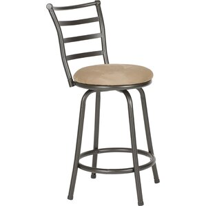 Deandre Swivel Bar Stool by Zipcode Design