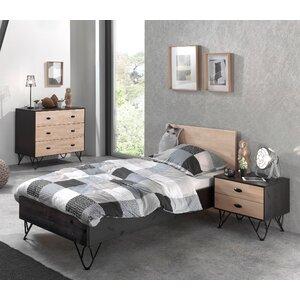 3-tlg. Schlafzimmer-Set William, 90 x 200 cm von..