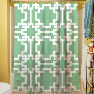 Favorite Mint Green Shower Curtain | Wayfair PD21