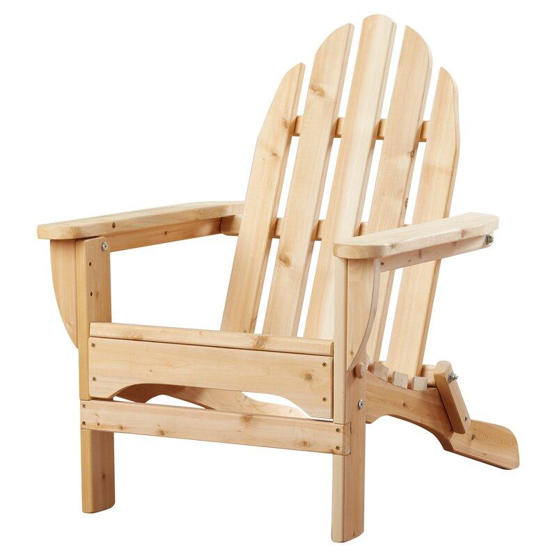 Adirondack Cedar Chairs rustic cedar cedar adirondack chair & reviews | wayfair