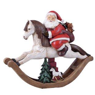 christmas rocking horse wayfair