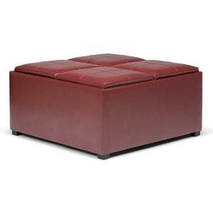 Avalon Coffee Table Storage Ottoman by Simpli Home