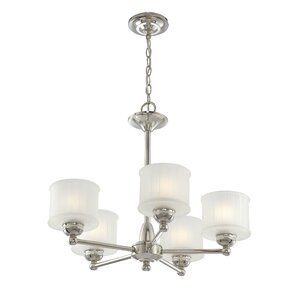 Beckemeyer 5-Light Drum Chandelier