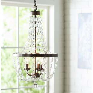Empire chandeliers joss main araja 3 light empire chandelier aloadofball
