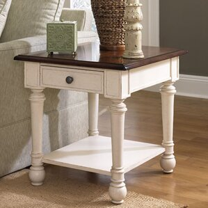Demaree End Table With Storage by Darby Home Co