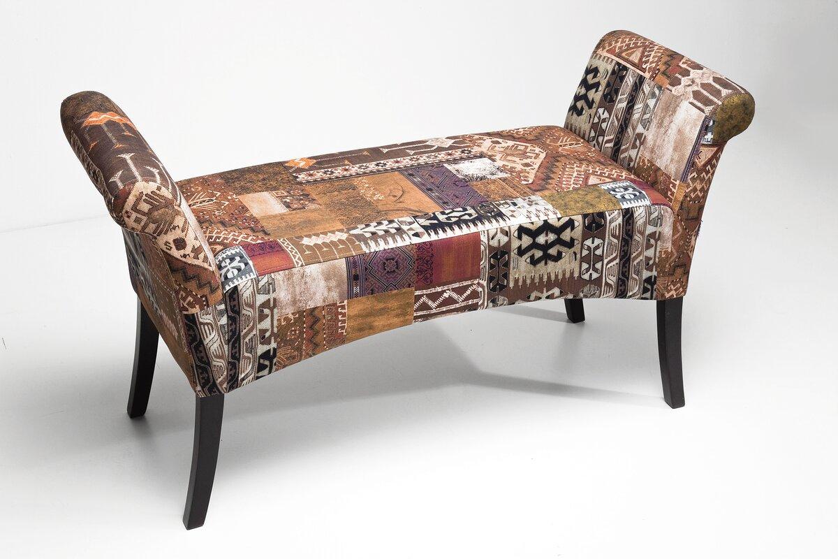 kare design gepolsterte schlafzimmerbank motley coffee aus. Black Bedroom Furniture Sets. Home Design Ideas