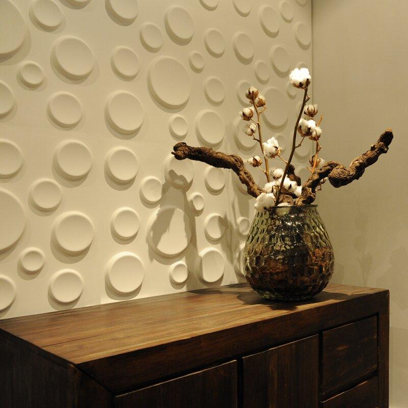 Decor Wonderland Craters 3D Decorative Wall Panels | Wayfair