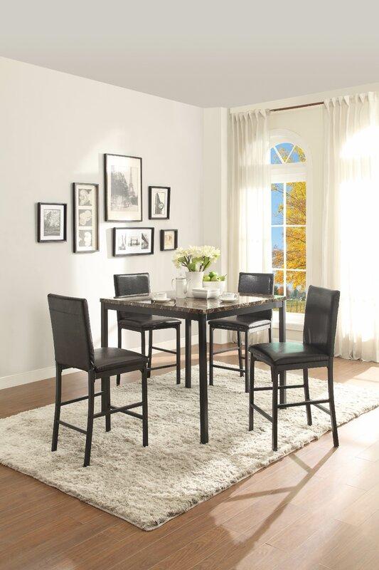Zipcode Design Greyson Counter Height Dining Table Reviews Wayfair