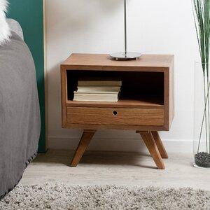 Nachttisch mit Schublade von Hokku Designs