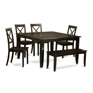 Parfait 6 Piece Dinning Set by East West ..