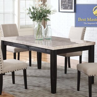 Marble Kitchen Dining Tables Youll Love Wayfair - Marble top circle dining table