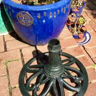 Hathaway Cast Iron Umbrella Base By Three Posts Furniture