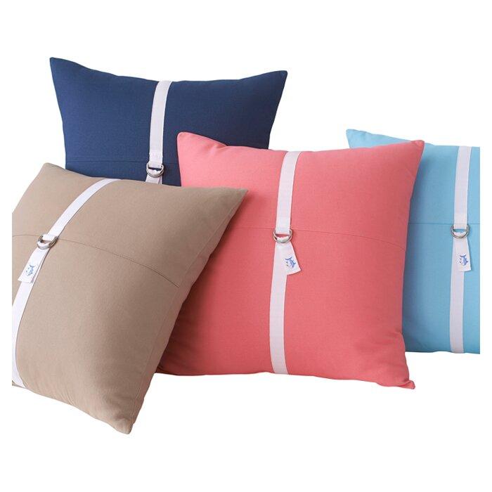 D-Ring Throw Pillow