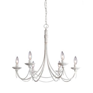 Randon 6-Light Candle-Style Chandelier